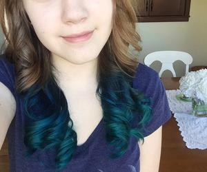 hair, hair dye, and me image