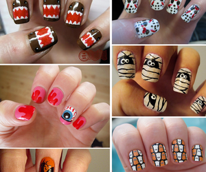 nails, mummy, and skull image