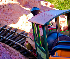 mickey mouse, Roller Coaster, and train image