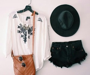 blouse, clothes, and hat image