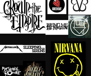 bmth, mcr, and nirvana image