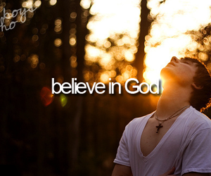 god, boy, and believe image