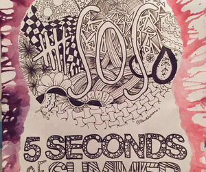 5sos, draw, and 5 seconds of summer image