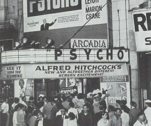 Psycho, vintage, and alfred hitchcock image