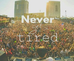 party, tired, and never image