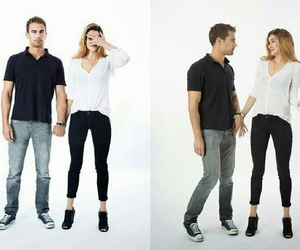four, tris, and shaileen woodley image