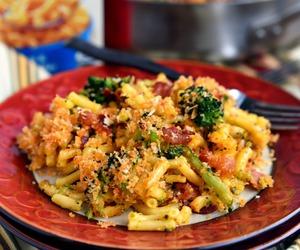 cheesy, food, and pasta image
