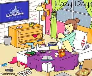 disney, room, and days image