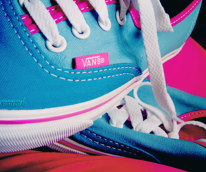 vans, shoes, and pink image