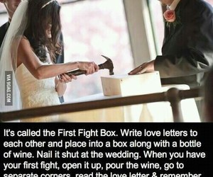 love, wedding, and fight image