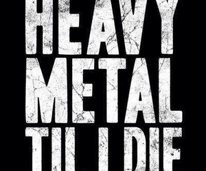 heavy metal, metal, and music image