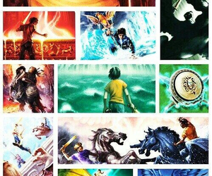 percy jackson, book, and frank image