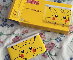 floral, gamer, and pikachu image