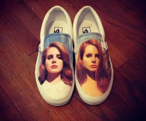 lana del rey, vans, and shoes image