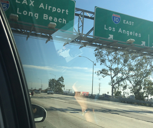 california, la, and LAX image