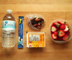 FRUiTS, lunch, and healthyfood image