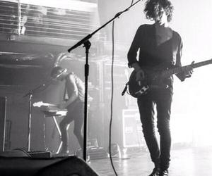 black and white, matty healy, and grunge image