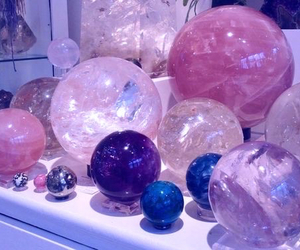 crystal, aesthetic, and pink image