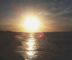 background, beach, and grunge image