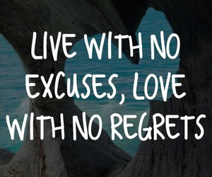 excuses, fact, and fall in love image
