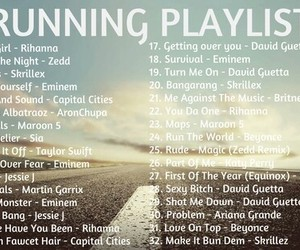 fitness and playlist image