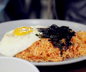 food, rice, and korean food image