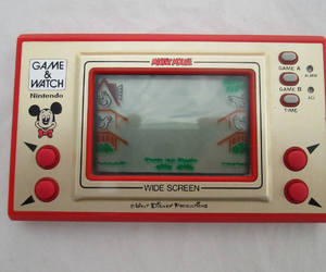 gaming, mickey mouse, and retro gaming image