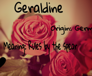 geraldine, german, and rules image