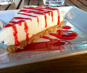 breakfast, cake, and cheese cake image