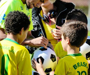 brazil, neymar, and fans image