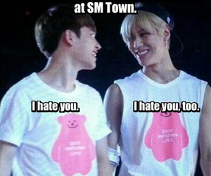exo, funny, and Taemin image