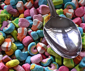 cereal, lucky charms, and marshmallows image