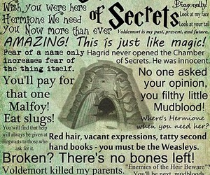 harry potter, chamber of secrets, and book image