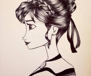 anna, art, and disegni image