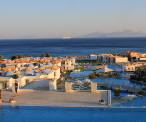 Greece, hotel, and summer image