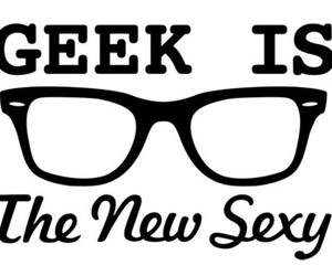 geek, sexy, and nerd image