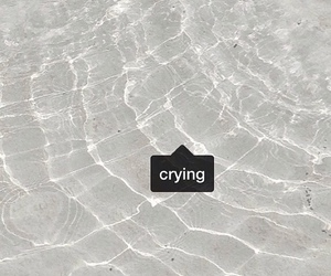 crying, pale, and grunge image