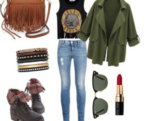fashion, outfit, and ray ban image