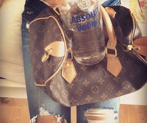 absolut, fashion, and LV image