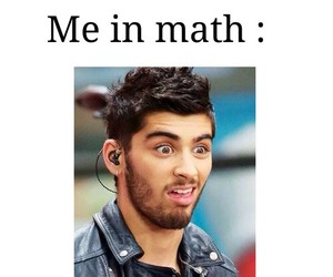 zayn malik, math, and funny image