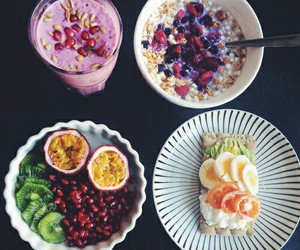 breakfast, diet, and FRUiTS image