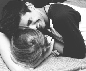 couple, cuddle, and cute image