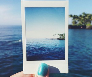 blue, sea, and summer image