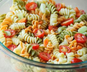 pasta and salad image