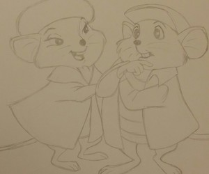 animation, disney, and drawing image