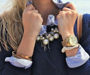 blue, jewellery, and fashion image