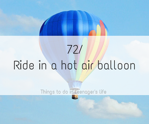 sky, clouds, and hot air balloon image