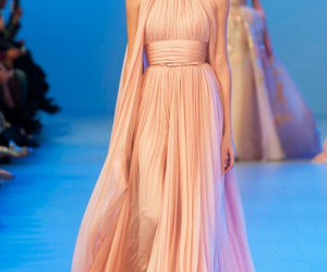 drapery, gown, and pleats image