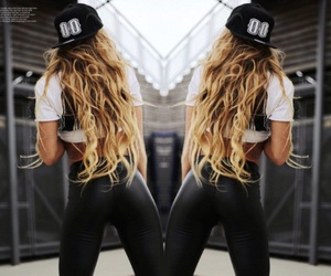 blonde, dope, and fashion image