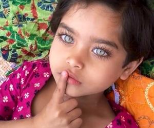 eyes, beautiful, and kids image